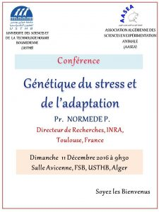 Conférence Normede
